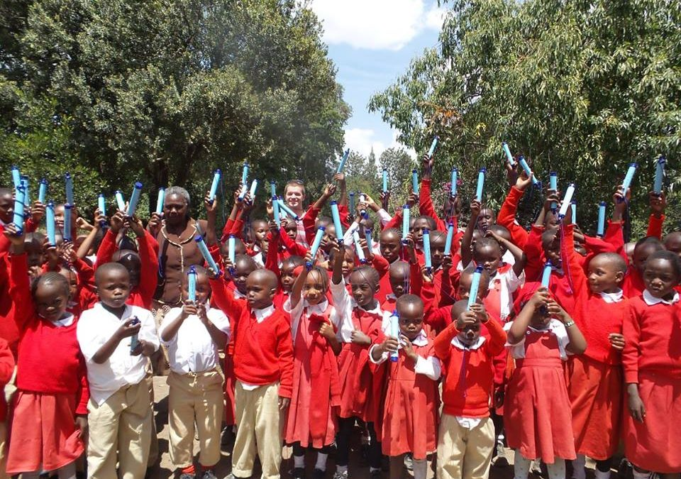 300 LifeStraws distributed to the Nanyuki community